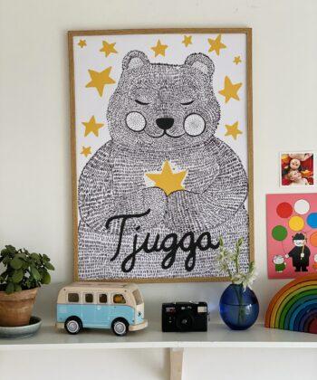 Poster with Tjugga