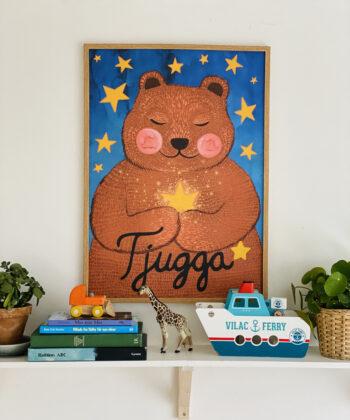 Poster 500x700 Tjugga and the star dust