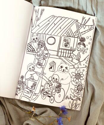 Tjugga´s wonderful coloring book