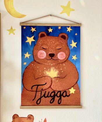 Plakat 500x700 Tjugga og stjernestøv