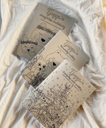 Tjugga coloring books - Set of three coloring books