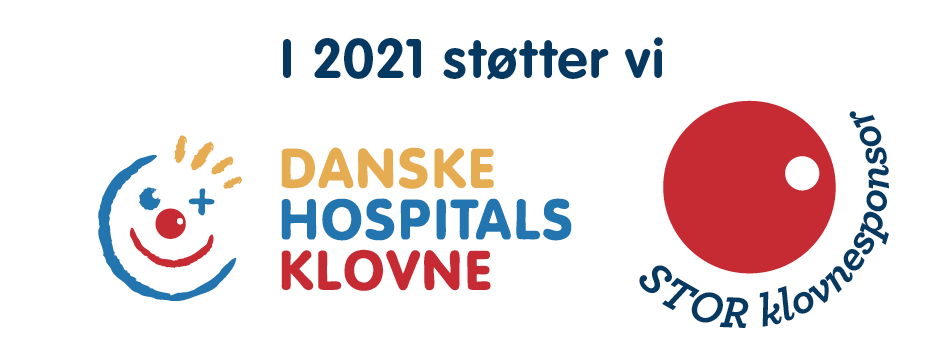 Tjugga støtter Danske Hospitals klovne 2021